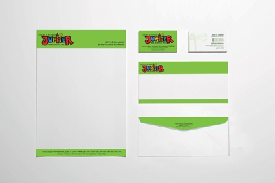 Jupiter Preschool Stationery