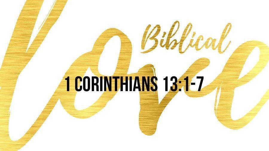 Biblical Love